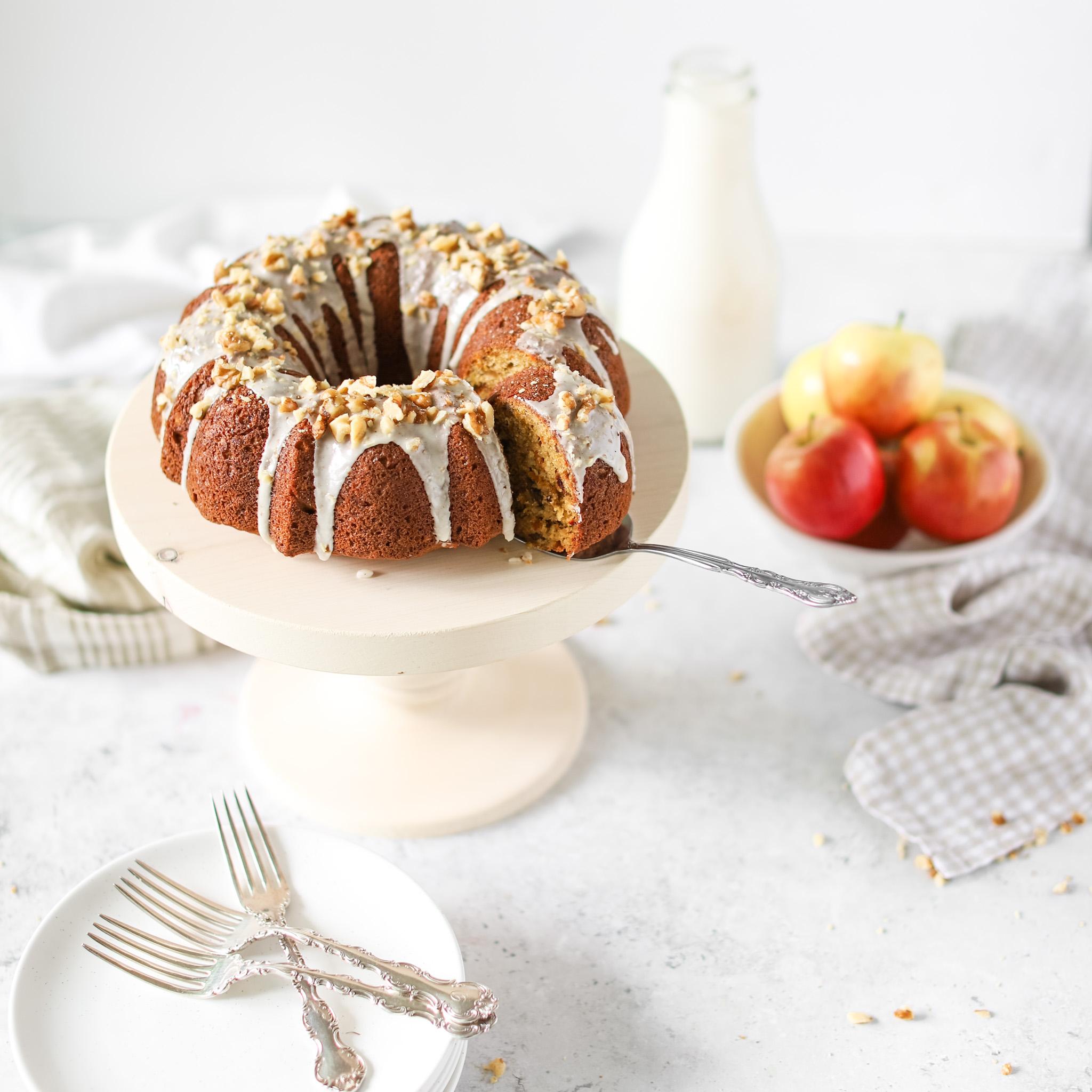 Beet Apple Cake Fraiche Living
