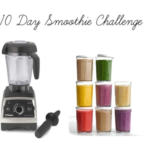 10 day smoothie challenge from Fraiche Nutrition