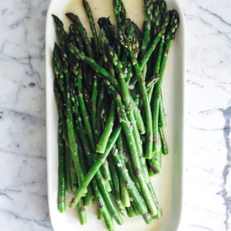 Lemon Garlic Sautéed Asparagus