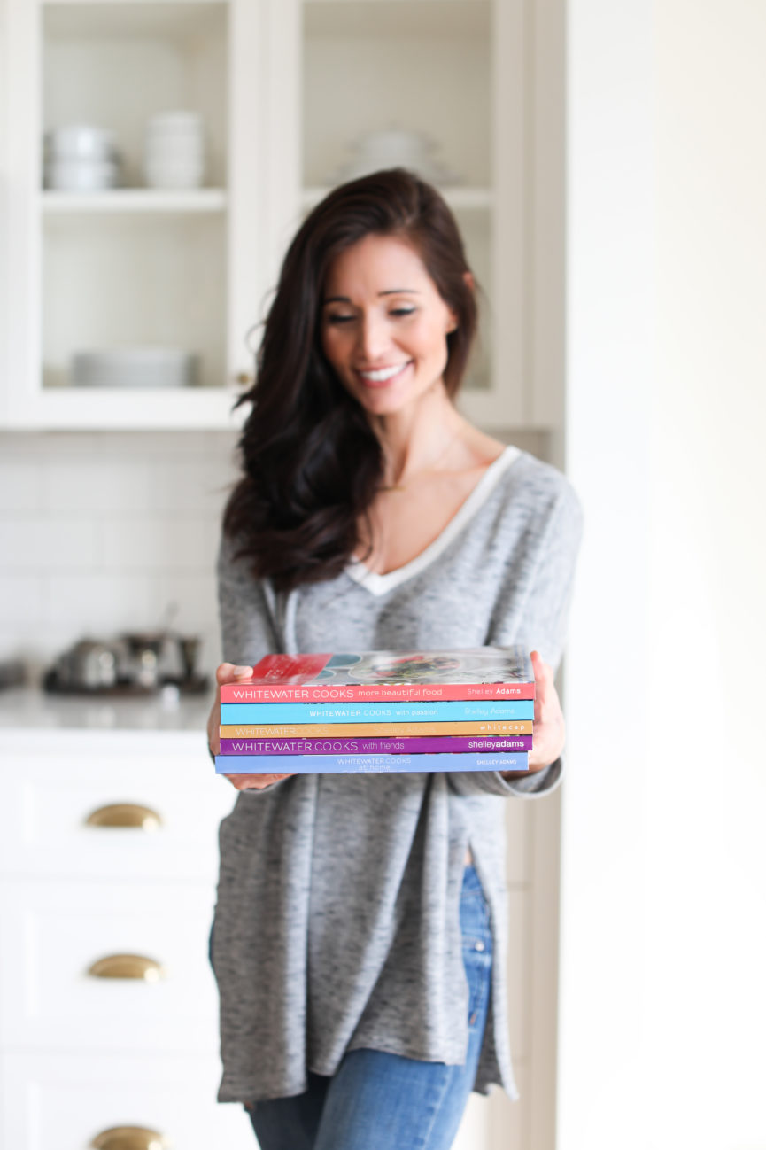 White Water Cooks Cookbook Set Giveaway filled with amazing delicious healthy recipes!