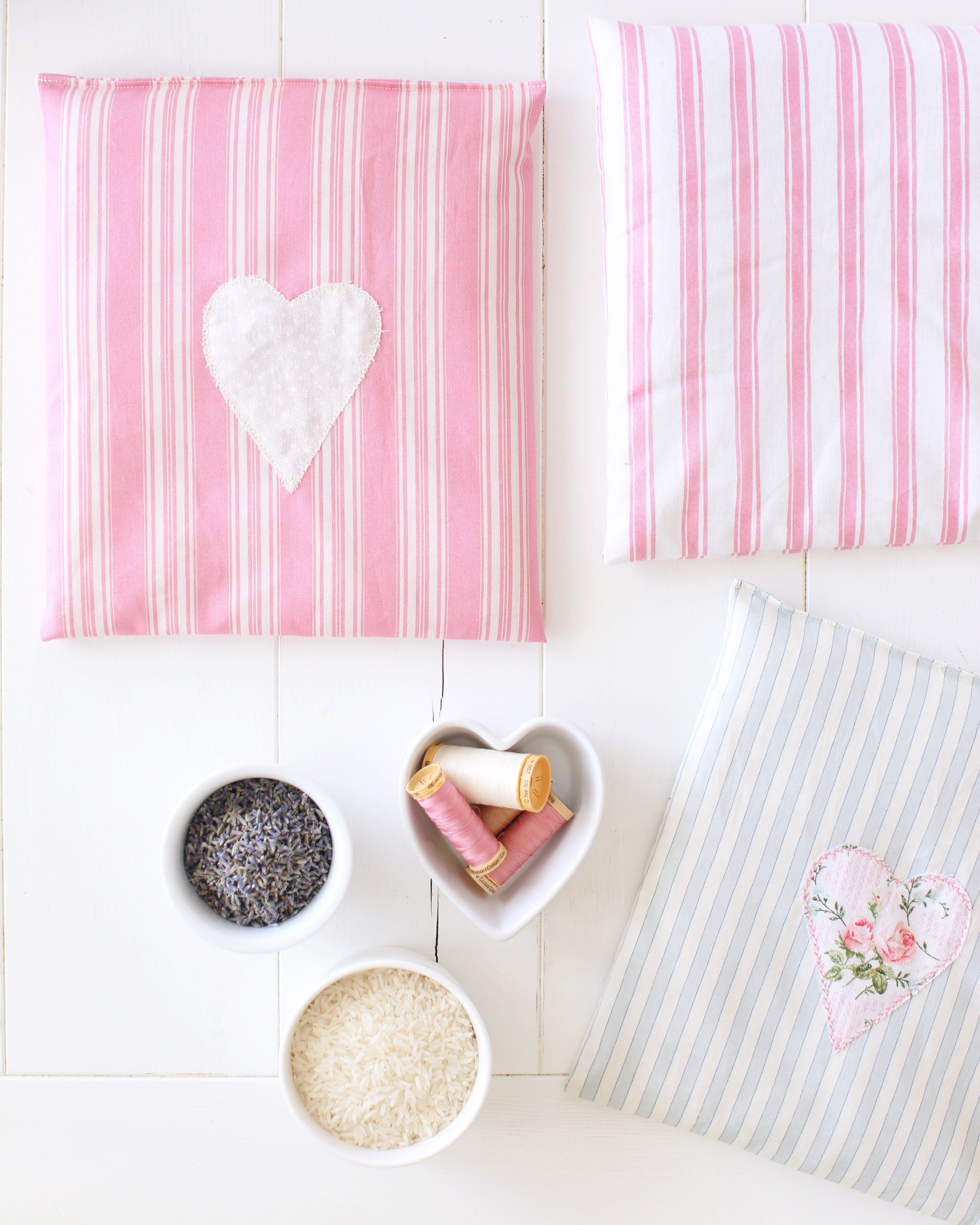 Sweetheart Lavender Magic Bags perfect for Valentine's Day or a simple craft for any time of the year!
