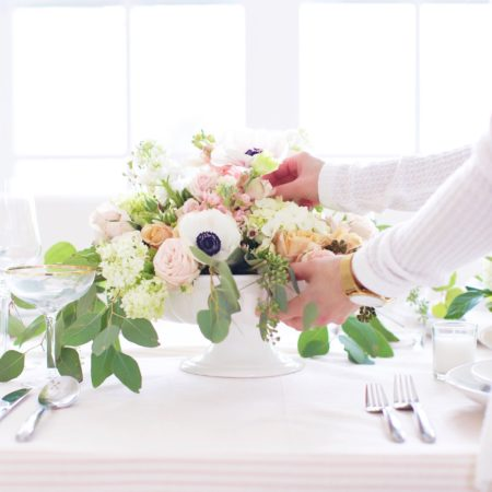 Romantic Floral Arrangement Tutorial