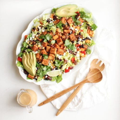 Cowgirl Salad (vegan & GF options)