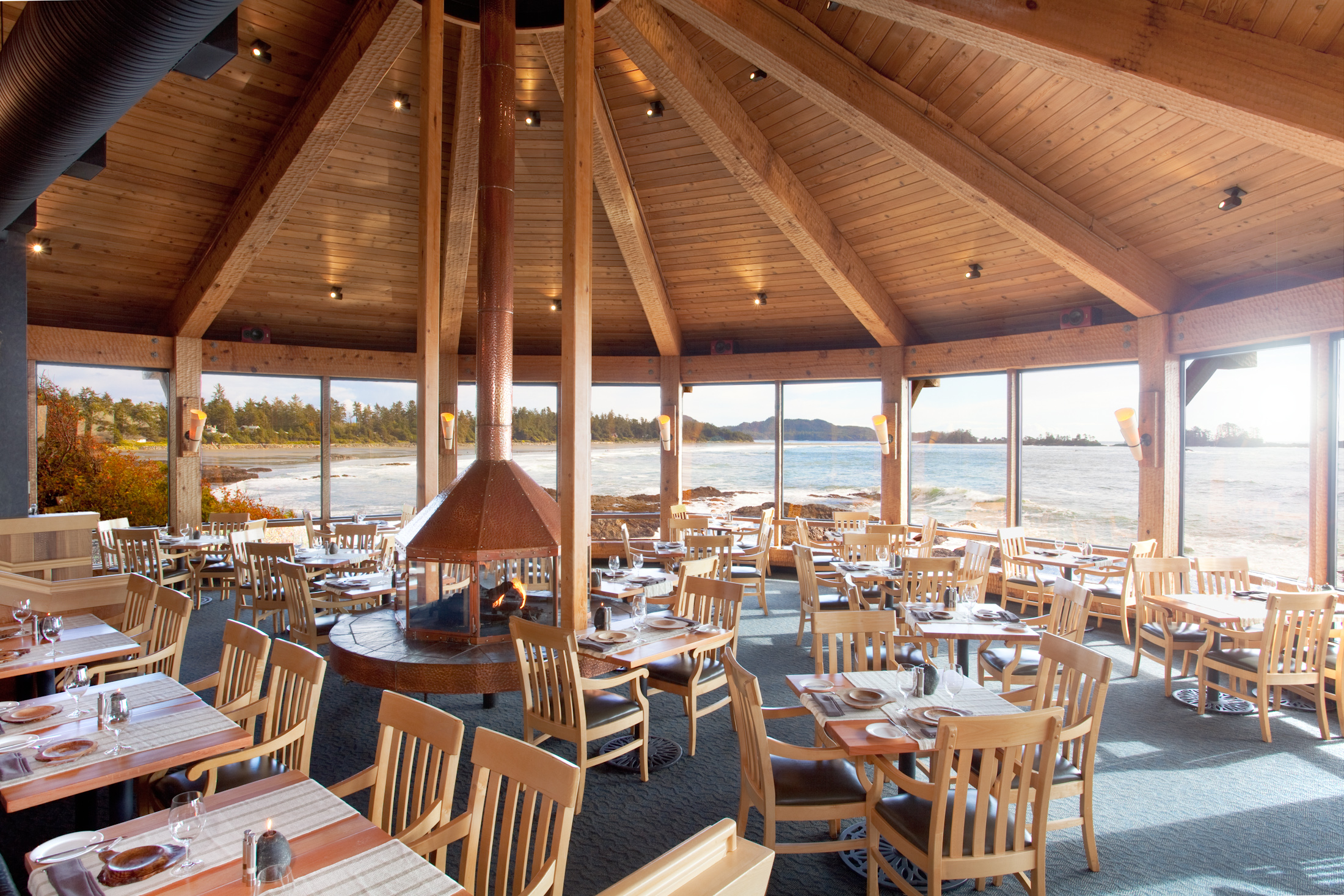 Wikaninnish Hotel in Tofino on Vancouver Island