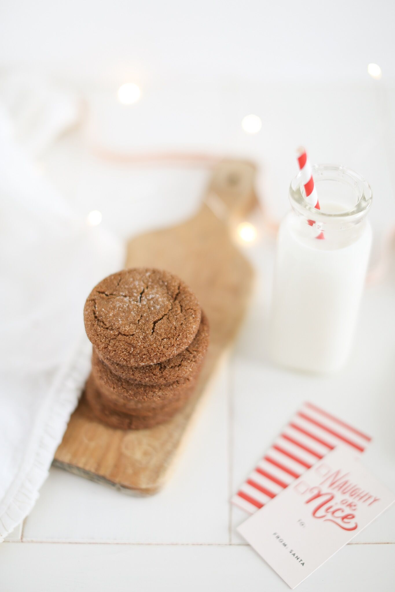 Grandma's Old Fashioned Gingersnap Cookie Recipe
