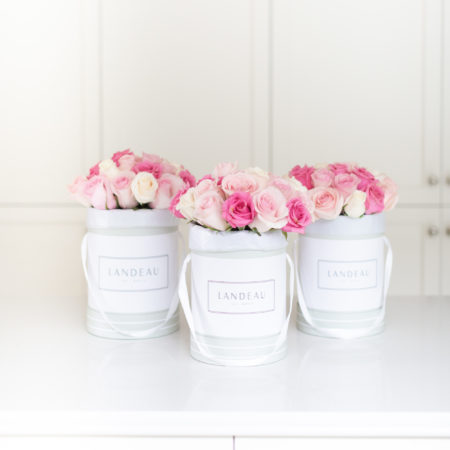 Valentine's Flash Giveaway #3: Three Bouquets of Landeau Roses